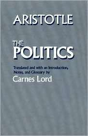 Politics, (0226026698), Aristotle, Textbooks   Barnes & Noble