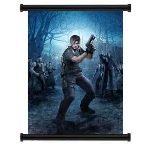 Resident Evil 4 Game Fabric Wall Scroll Poster (31 x 44
