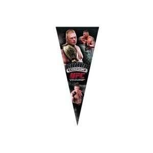 UFC Brock Lesnar 17 x 40 Pennant