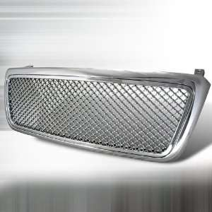 04 06 Ford F150 1P Chrome Grill   Mesh Automotive