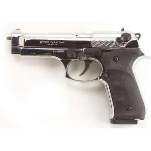 Jackal Full Auto Blank Firing Replica Pistol   Chrome
