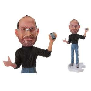 New Steve Jobs Apple Founder CEO Iphone Statue Figure 18cm