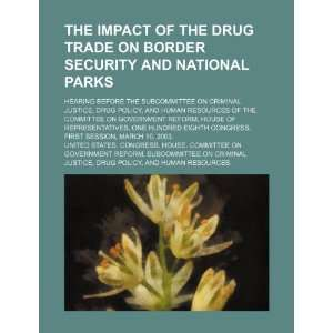 Drug Policy, and Human  One Hundred Eighth Congress, first s