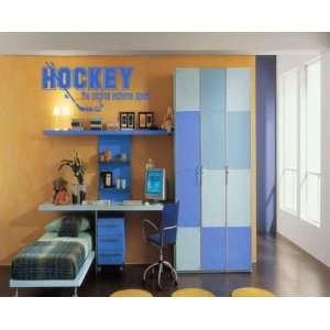 Hockey  the Original Extreme Sport Sports Vinyl Wall Decal Sticker