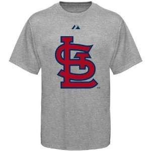 St. Louis Cardinals Ash Official Logo T shirt