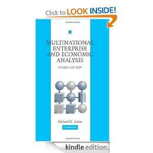 Multinational Enterprise and Economic Analysis (Cambridge Surveys of