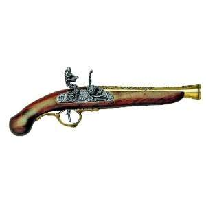 GERMAN EARLY 1700S FLINTLOCK PISTOL NON FIRING REPLICA GUN