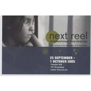 (4x6) Next Reel Intnl Film Festival Postcard