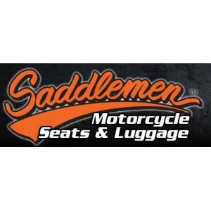 Saddlemen Gel Channel Track One Piece Solo Seat with Rear