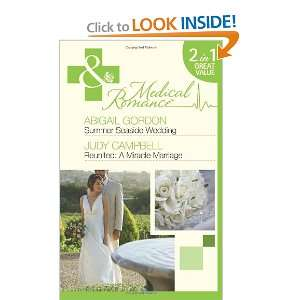 Marriage (Medical 2 in 1) (9780263885804): Abigail Gordon: Books