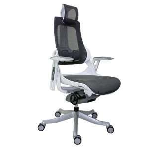 Wau Series High Back Mesh Executive Chair Charcoal Mesh