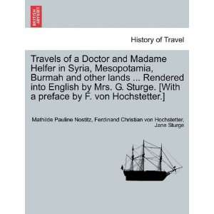 Travels of a Doctor and Madame Helfer in Syria, Mesopotamia