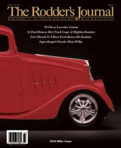Rodders Journal 34B; Hot Rat Rod, Gasser, 33 Will Coupe