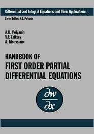 Handbook Of First Order Partial Differential Equations, (041527267X