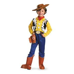Child Boys Disney Pixar Toy Story Woody Deluxe Costume