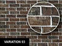 0145 Dark Bricks Wall Texture Sheet