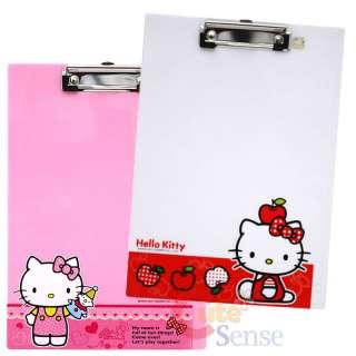 Sanrio Hello Kitty File Writing Pad /Clip Board  2PC
