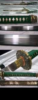 Folded Japanese Katana Samurai Sword HAND FORGED