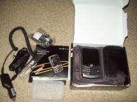 Blackberry Curve 8330 Sprint W/Box/Car/PC Charger/Case 843163042995