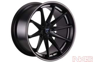 20 LEXUS ISF ROHANA RC10 BLACK CONCAVE STAGGERED WHEELS RIMS