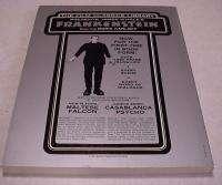1975 James Whales Frankenstein Starring Boris Karloff 256 Page