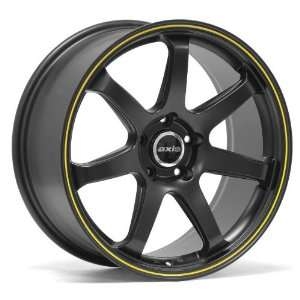 18x9.5 Axis Halo (Matte Black) Wheels/Rims 5x114.3 (HALO8955H40BLK)