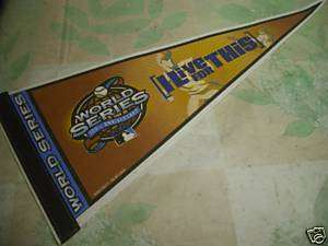 WORLD SERIES PENNANT 100th ANNIVERSARY 2003, WOW
