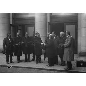 1917 photo CANADA. LABOR DELEGATIONS. BRITISH LABOR COM. GARROD, H.W