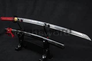 High Quality Functional Carbon Steel Japanese Katana Sharp Edge Blade