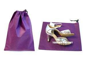 Zapatos bolsa TPS morado baile Salsa Tango