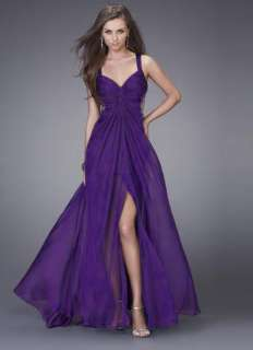 Purple Womens Bridesmaids Formal Prom Party Gown Evening Long Dress 8