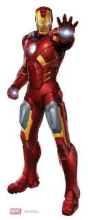 2012 MOVIE IRONMAN LIFESIZE STANDEE STAND UP LICENSED 1185