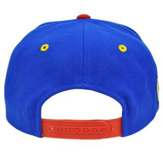 Snapback Filipino Philippines Flag Blue Red Flat Bill Hat Cap