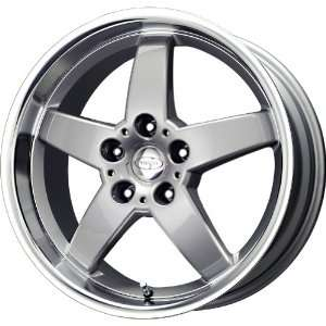 Privat Kraftwerk Silver Machined Wheel (17x8/5x112mm