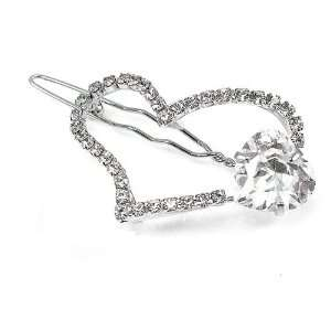 Perfect Gift   High Quality Elegant Heart Barrette with