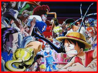 Anime One Piece Good vs Bad multi use game play mat