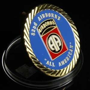 U.S Army 82nd Airborne Division Coin 640