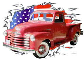 You are bidding on 1 1950 Red Chevy Pickup Truck c Custom Hot Rod
