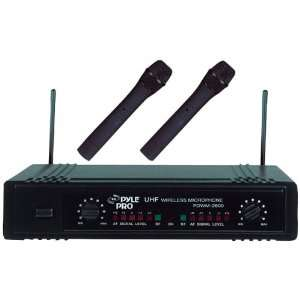 Dual Channel UHF Wireless Microphone System Electronics