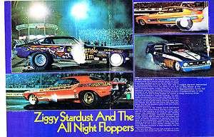 Vintage NHRA IHRA AHRA Drag Racing 1973 Funny Cars OCIR Orange County
