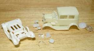 1974 76 TYCO SLOT CAR 32 Ford VICKY STOCK TEST SHOT Bod |