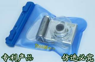 140 x 175mm 20M Underwater Digital Camera Waterproof bag Case WP018