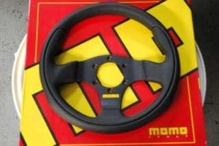 MOMO Steering Wheel Team Black 300mm Ford Focus SVT NEW