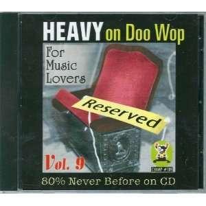 Heavy on Doo Wop, Vol. 9 Various Doo Wop Artists Music
