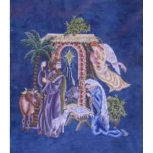 The Nativity (cross stitch): Arts, Crafts & Sewing