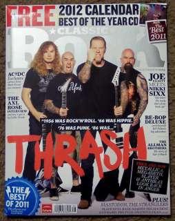 + CD THRASH January 2012 METALLICA 2012 Calendar BEST GRATEFUL DEAD