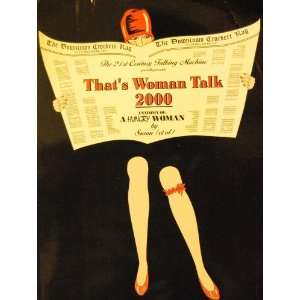 Thats Woman Talk 2000 (Anatomy of a Hungry Woman by Susan