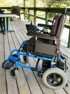 Quickie V 121 Portable Electric Wheelchair Light Weight