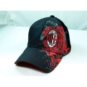 AC MILAN OFFICIAL TEAM LOGO CAP / HAT   ACM001  Sports