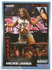 2011 TRISTAR TNA Signature Impact #31 Mickie James